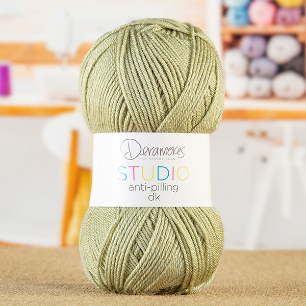 Deramores Studio DK Yarn - Green Tea No Colour