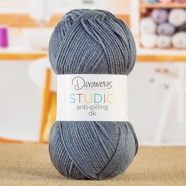 Deramores Studio DK Yarn - Storm Cloud No Colour
