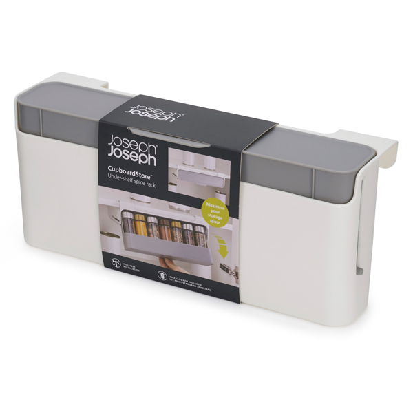 Joseph Joseph CupboardStore Under-Shelf Spice Rack No Colour