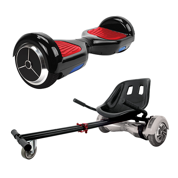 iconBIT Mekotron Hoverboard with Kato Go Cart Attachment No Colour