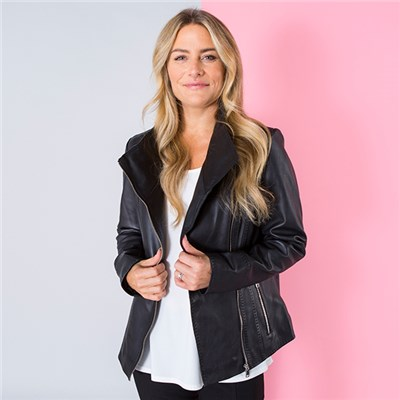 Lakeland Leather Martina Biker Jacket