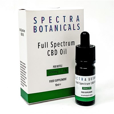Spectra Botanicals CBD Oil Dropper 5% 500mg
