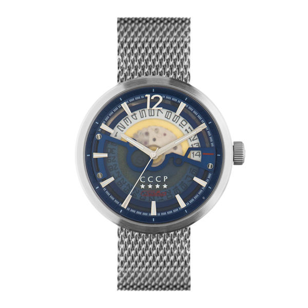 CCCP Gent's Kashalot Automatic with Milanese Bracelet Blue