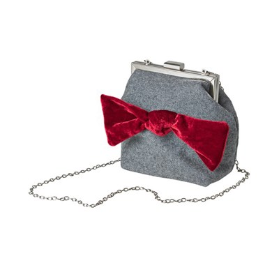 Joe Browns Rockefeller Velvet Bow Bag