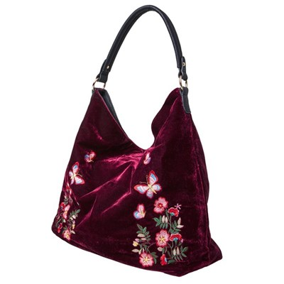 Joe Browns Reversible Velvet Embroidered Bag