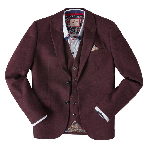Joe Browns Seriously Snappy Blazer Burgundy