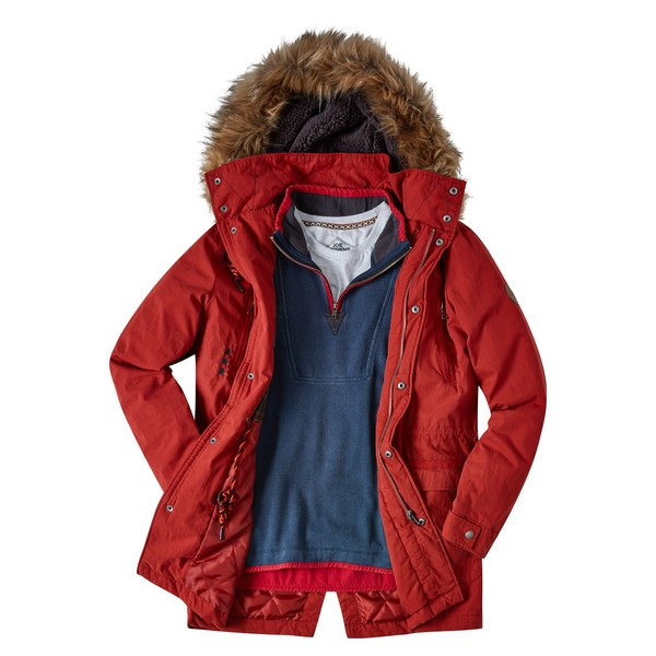 Joe Browns Into The Woods Parka Rust