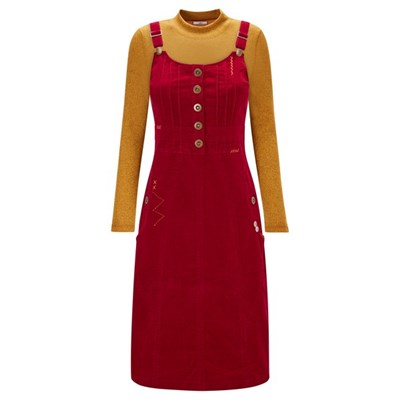 Joe Browns Our Favourite Cord Pinafore Dress