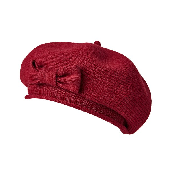 Joe Browns Cafe Rouge Vintage Beret Red