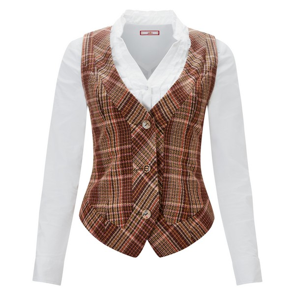 Joe Browns Country Check Waistcoat Multi