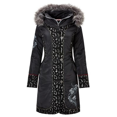 Joe Browns Animal Jacquard Parka