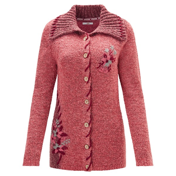 Joe Browns Cosy Boucle Cardigan Pinks