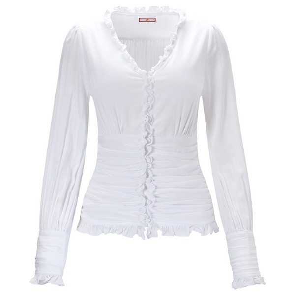 Joe Browns Simon's Vintage Style Blouse White