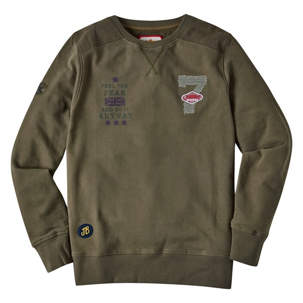 Joe Browns Dynamo Crew Khaki