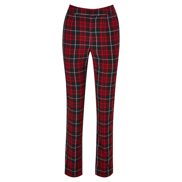 Joe Browns Check Trousers Red