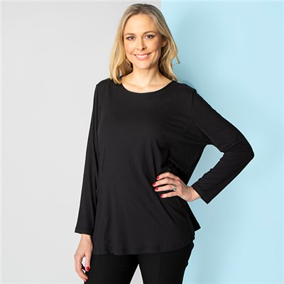 Emelia Velvet Touch Pocket Top