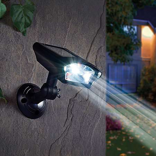 Zennox Solar Security Spotlight No Colour