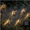 Garden Gear Solar Style Caged Solar Lights - Diamond