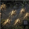 Zennox Solar Style Caged Solar Lights - Diamond