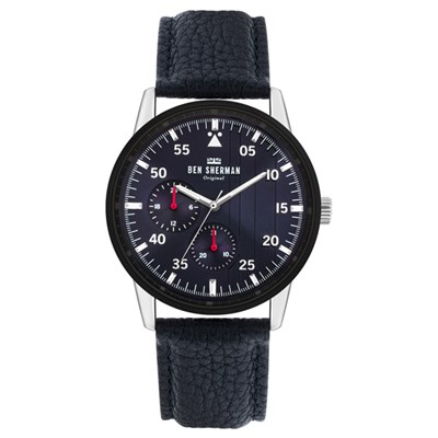 Ben Sherman Gent's Daltrey Sport with Genuine Leather Strap