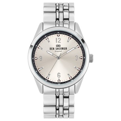 Ben Sherman Gent's Carnaby Mod Watch with Stainless Steel Bracelet