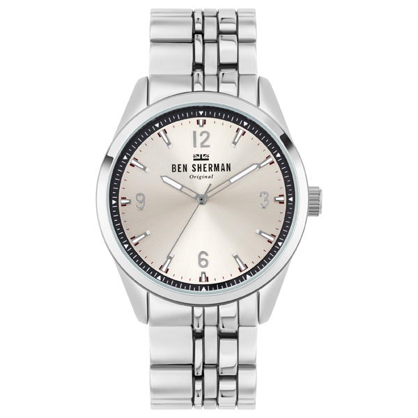 Ben Sherman Gent's Carnaby Mod Watch with Stainless Steel Bracelet Silver