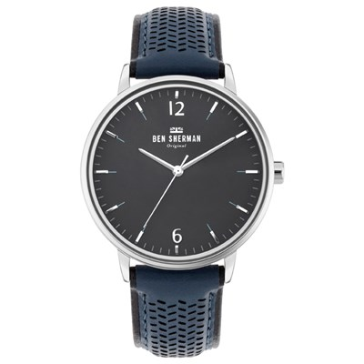 Ben Sherman Gent's Portobello Social Watch with Genuine Leather Strap