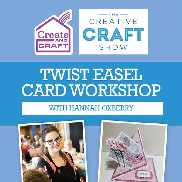 The Creative Craft Show Workshop - Rose Shoe Twist