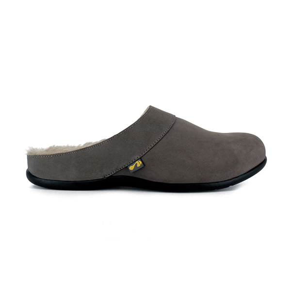 Strive Vienna Slipper Charcoal Grey