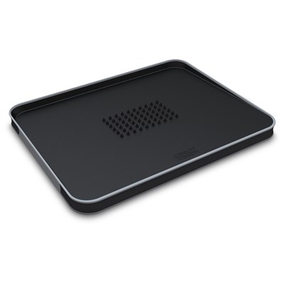 Joseph Joseph Black Cut & Carve Plus Large Chopping Board