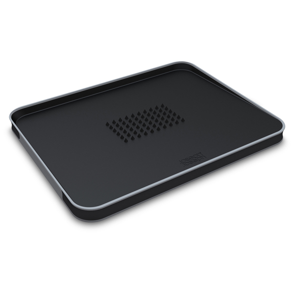 Joseph Joseph Black Cut & Carve Plus Large Chopping Board No Colour