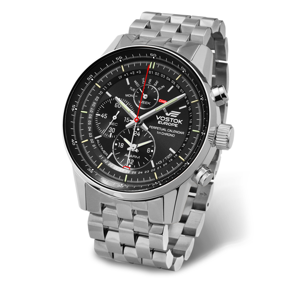 Image of Vostok Europe Gent's GAZ-14 All Timer Watch with Stainless Steel Bracelet