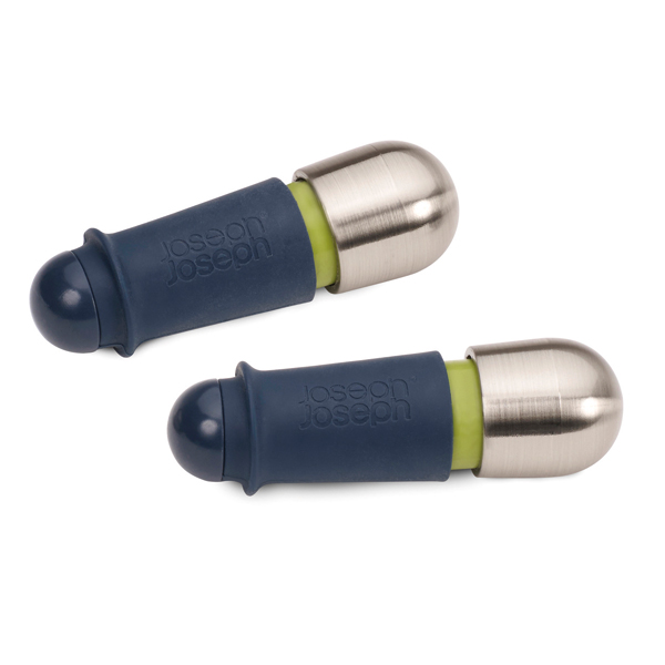 Joseph Joseph BarWise Twist-Lock Wine Stoppers (Twin Pack) No Colour