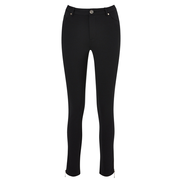 Joe Browns Zip Ankle Ponteroma Trousers Black