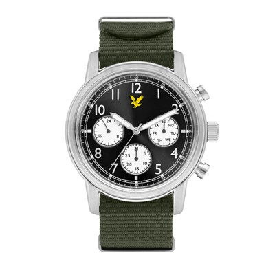 Lyle & Scott Gent's Command Watch with Nylon Strap
