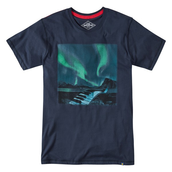 Joe Browns Sensational Sounds T-Shirt Navy