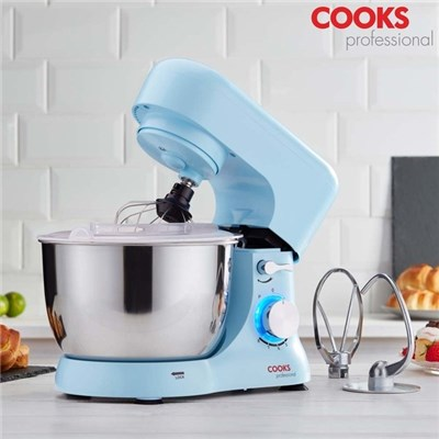 Cooks Professional G3138 Blue 1000W Stand Mixer