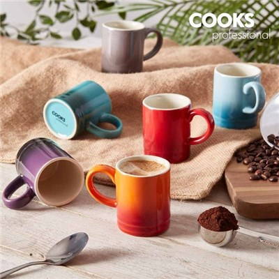 Cooks Professional G4112 Multi-Colour 6 Piece Espresso Cups