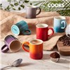 Cooks Professional 6 Piece Multi Colour Espresso Cups