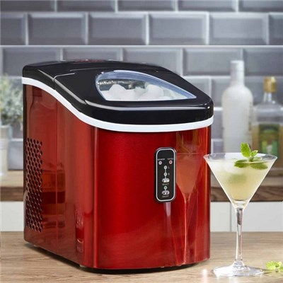 Cooks Professional G2796 Red Automatic Ice Maker