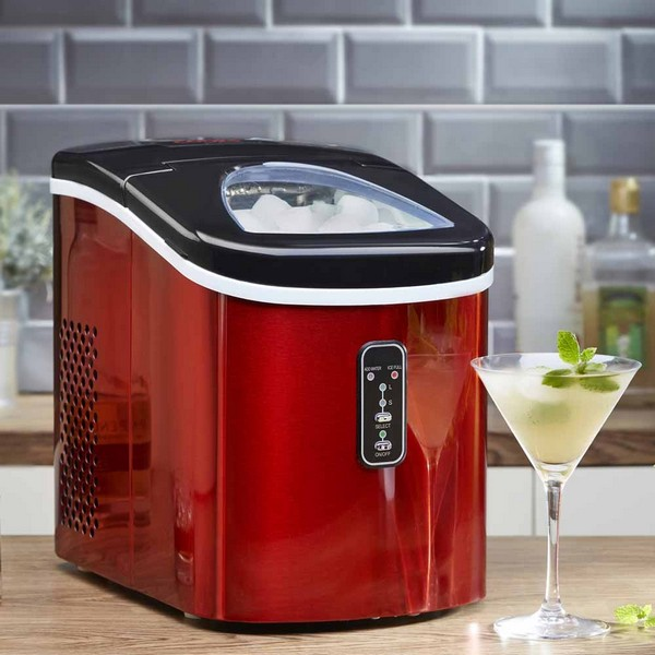 Cooks Professional G2796 Red Automatic Ice Maker No Colour
