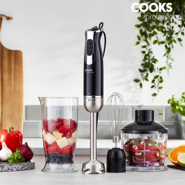 Cooks Professional G4047 3-in-1 1000W Handheld Stick Blender No Colour