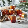 Cooks Professiona 6 Piece Mug Set Burnt Orange