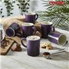 Cooks Professional 6 Piece Mug Set Heather Purple