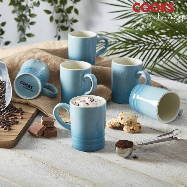 Cooks Professional G4247 Lagoon Blue 6pc Mug Set No Colour