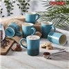 Cooks Professiona 6 Piece Mug Set Summer Teal