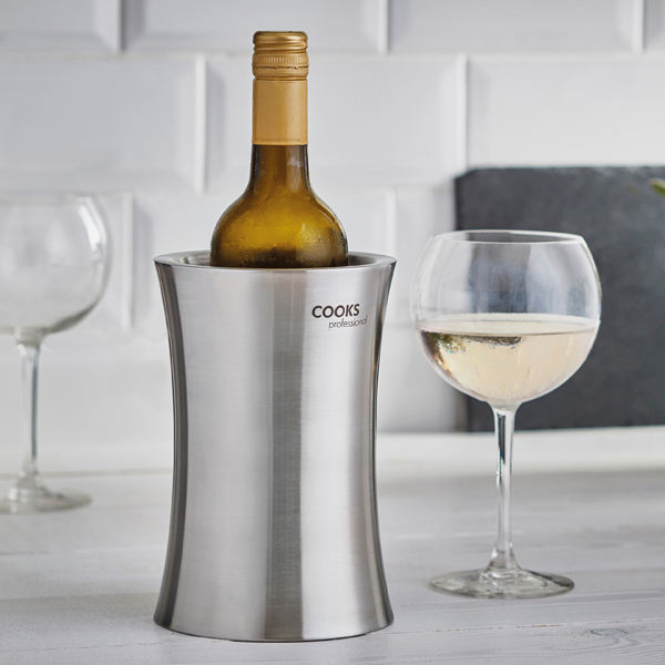 Cooks Professional G3213 Stainless Steel Double Walled Wine Cooler No Colour