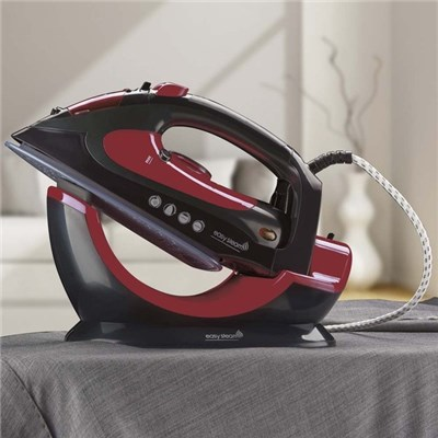 Easy Steam G1312 2 in 1 Red/Black Cordless Ceramic Steam Iron