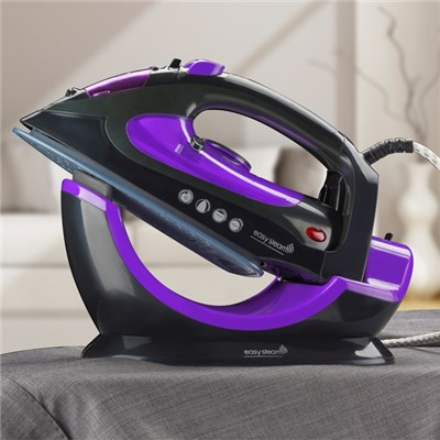 Easy Steam D9754 2 in 1 Purple/Black Cordless Ceramic Steam Iron