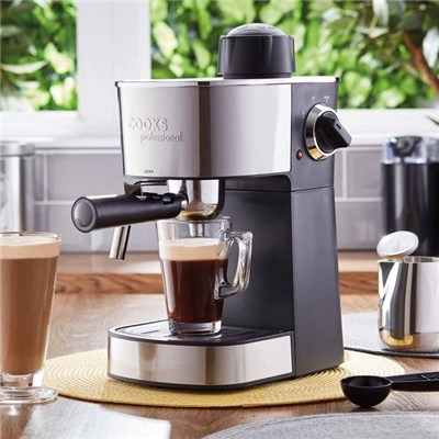 Cooks Professional G2994 Espresso Maker with Milk Froth Arm